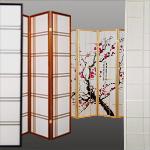 Raumteiler Japanisch paravent raumteiler aus japanwelt