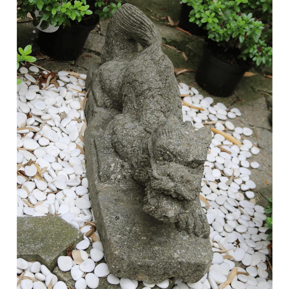 Gl cksdrache figuren skulpturen garten japanwelt for Japanische gartenfiguren
