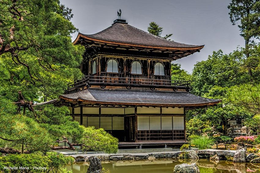 Ginkaku-Ji Tempel Kyoto