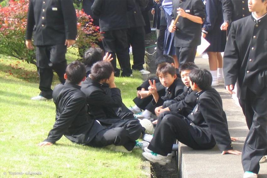 Japan Teenager in Uniform
