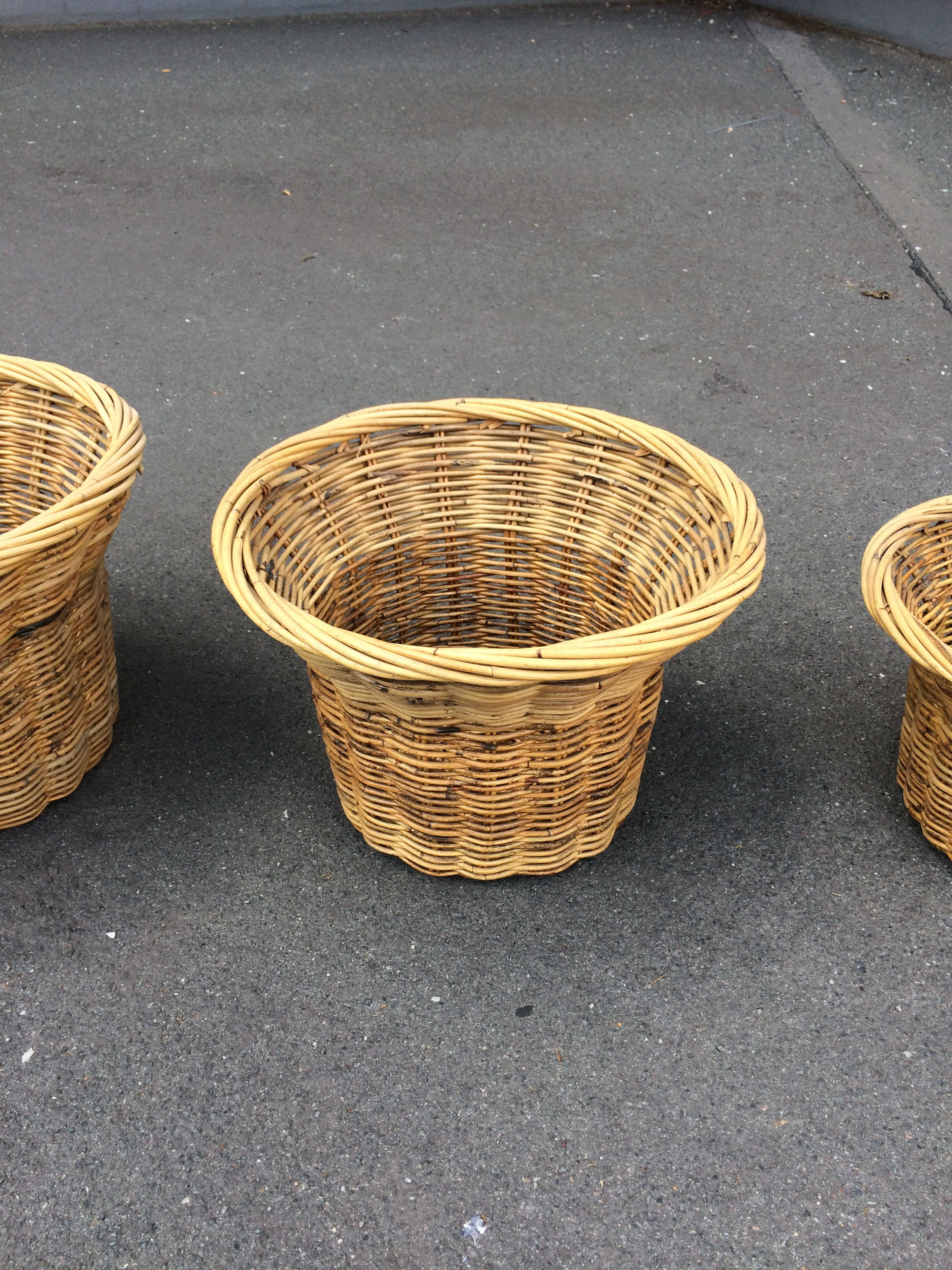 Basketry & Chair Caning Geflochtene Halbkörbe Home Arts & Crafts