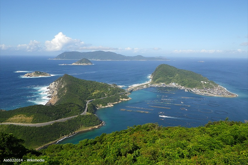 Okinoshima and Kashiwajima