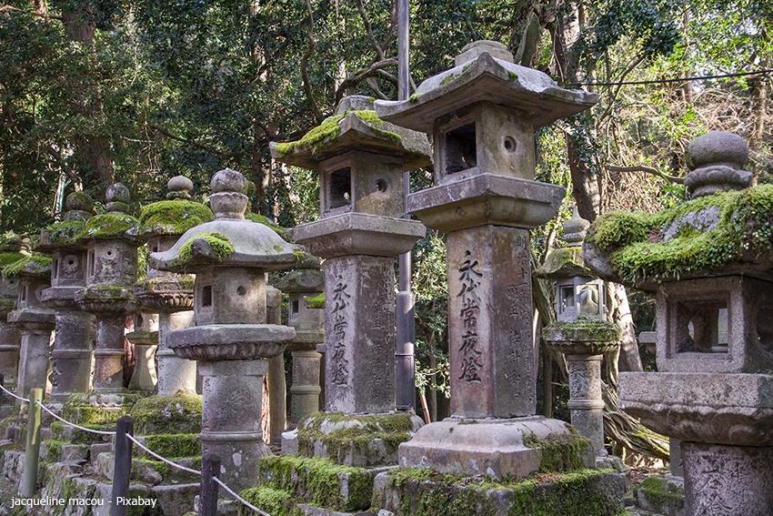 Tempelruinen der Kaiserstadt Nara