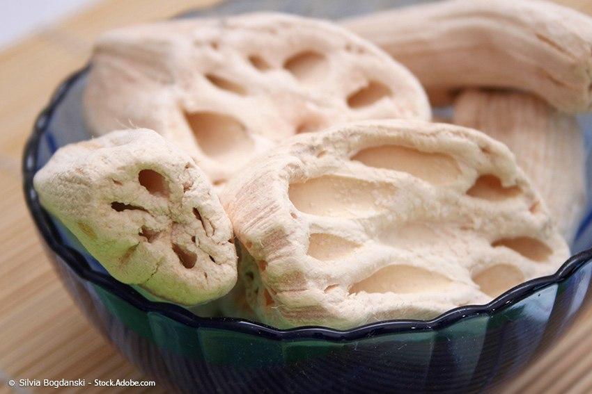 Karashi-Renkon-Lotuswurzel Rezept
