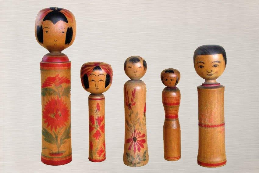 Die verschiedenen Kokeshi Stile