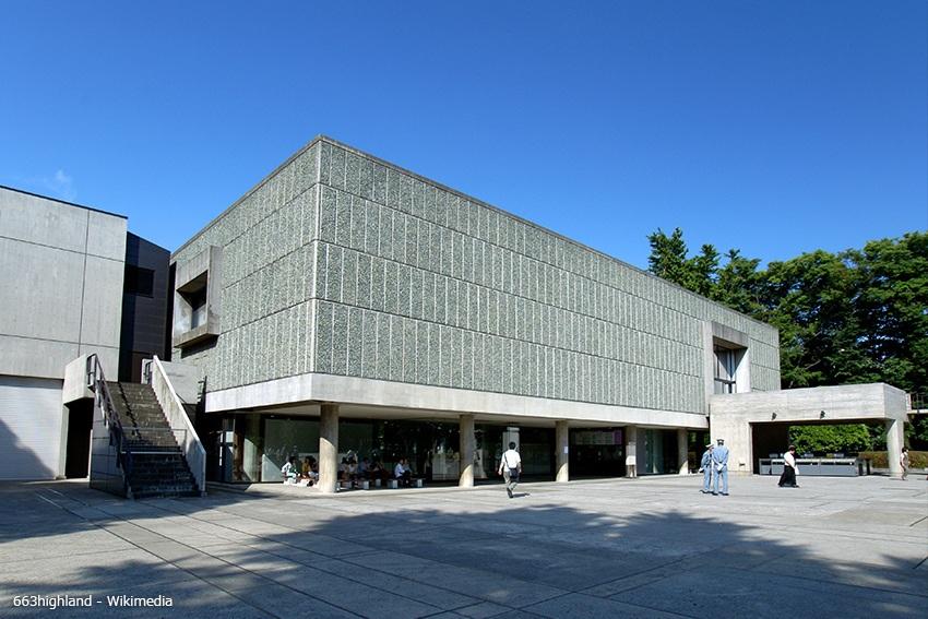 Hauptgebäude des Nationalmuseums für westliche Kunst Tokyo