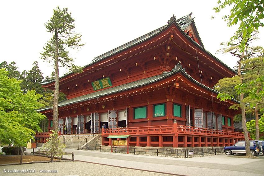 Japans Unesco Weltkulturerbe Nikko Rinnoji