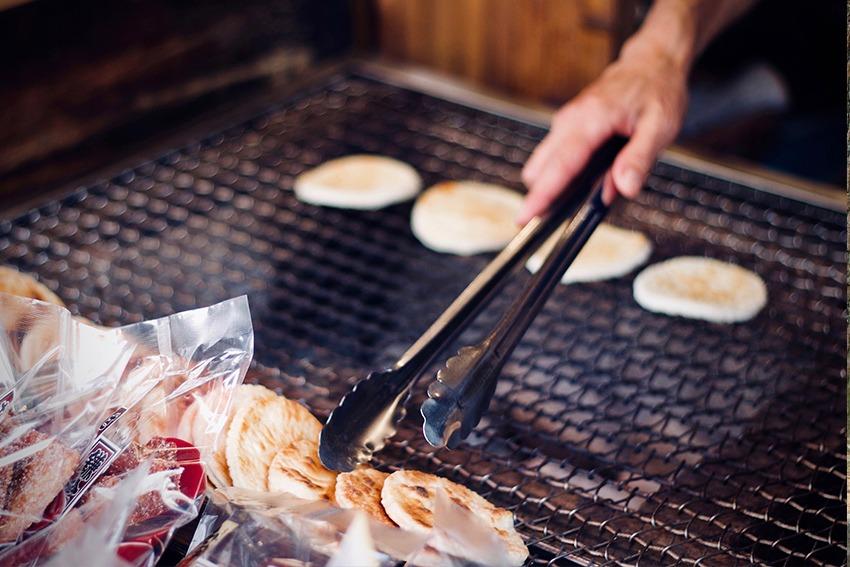 Senbei - japanisches Street Food Gebäck