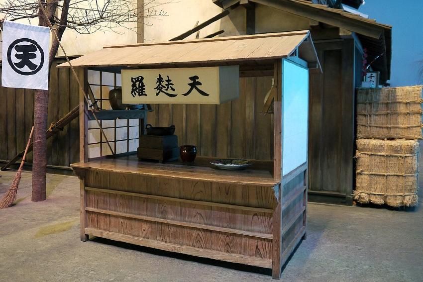 Tempura-Stand aus der Edo-Zeit