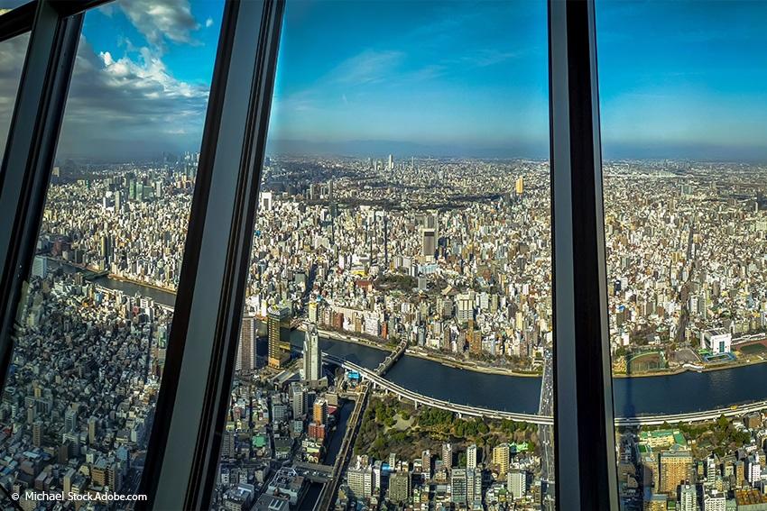Aussicht Skytree Tower Tokyo