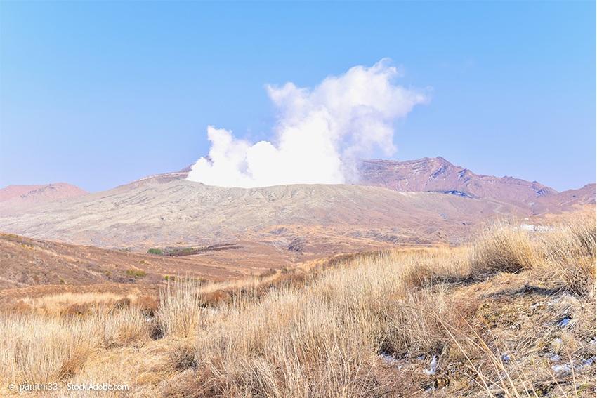 Vulkan-Aso-Nationalpark-Kumamoto