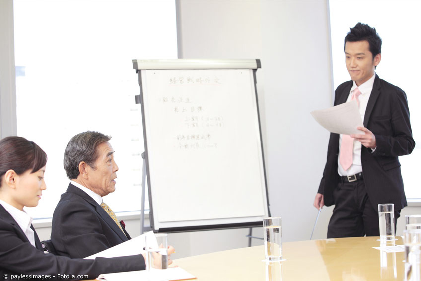 Meetings im japanischen Arbeitsalltag