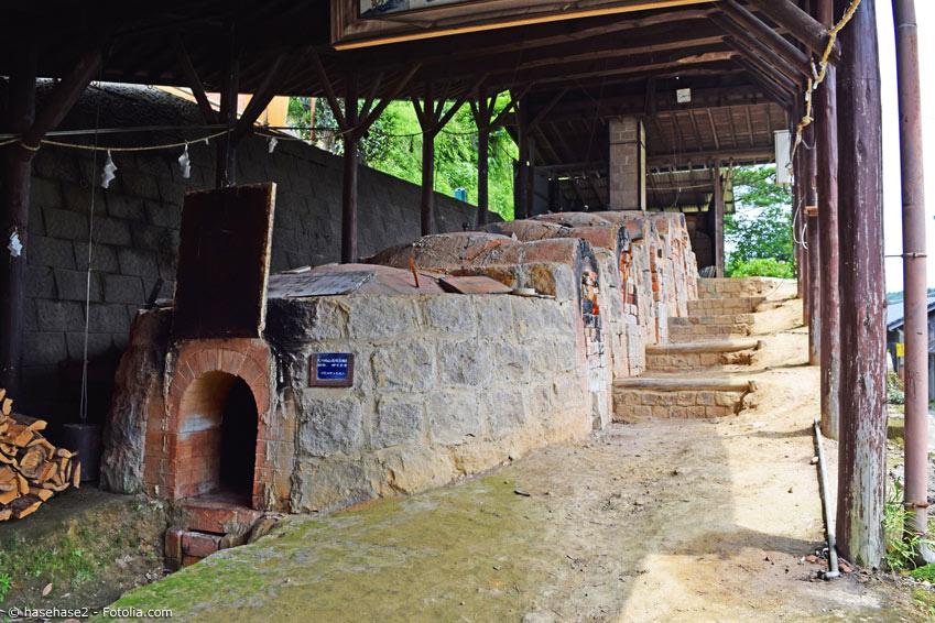 Arita Keramik Herstellung Brennöfen