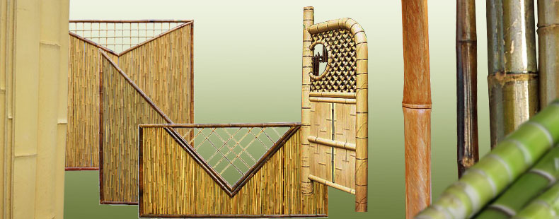Bambus | Rohre, Zäune & andere Materialien aus Bambus • Japanwelt