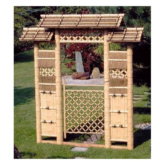 bambustor narihira japanwelt. Black Bedroom Furniture Sets. Home Design Ideas