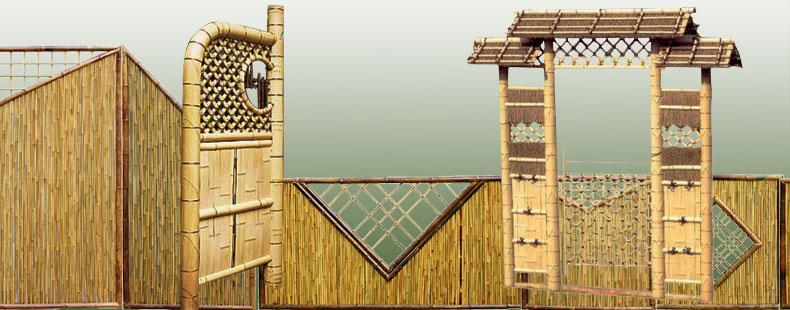 Zaune Bambuszaune Bei Japanwelt Online Gunstig Kaufen