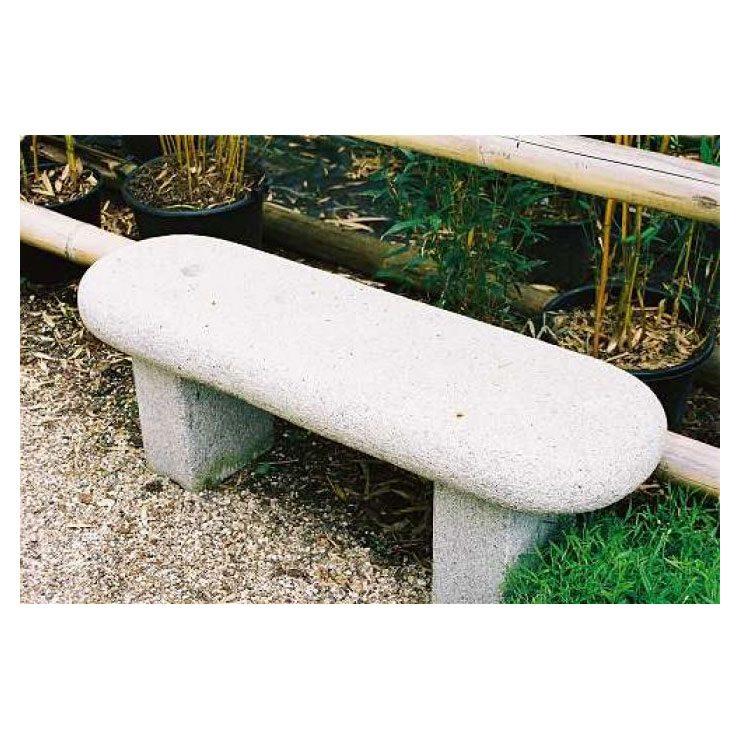 Bank rechteckig, abgerundete Kanten • Bänke • Garten