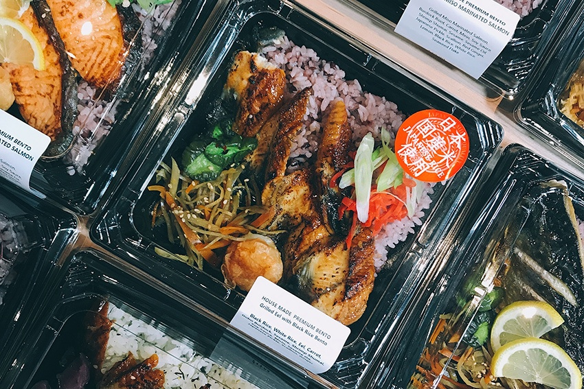 Bento-klassisches japanisches Streetfood