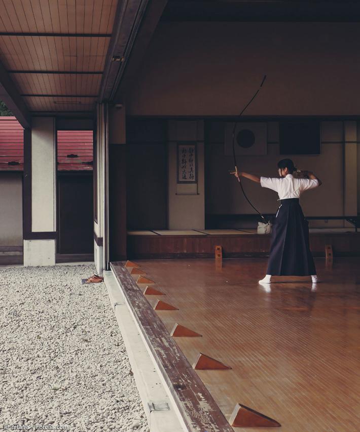Japanische Sportarten wie Karate oder Kyudo (Bogenschießen) finden ebenfalls ihren Platz auf verschiedenen Anime Messen.