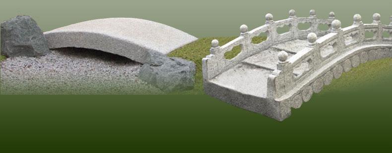 Gartenbrücken Aus Stein Für Ihren Japan Koiteich Oder Als Zierbrücke