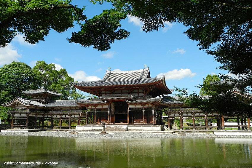 Ein typischer Tempel im Buddhismus