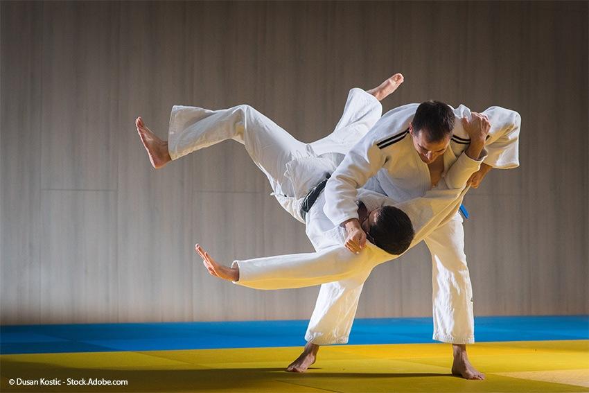 Judo - eine der bekanntesten, waffenlosen japanischen Kampfsportarten