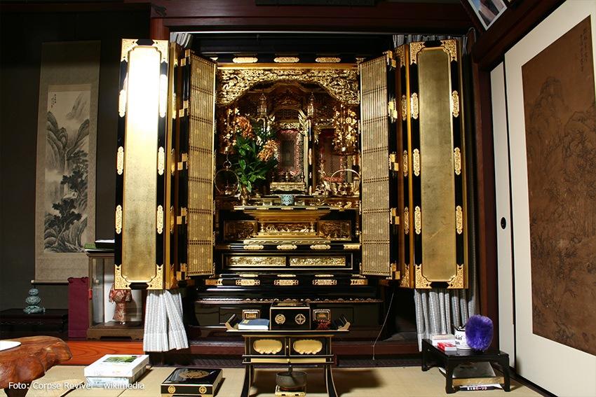 japanische Wohnung mit Altar