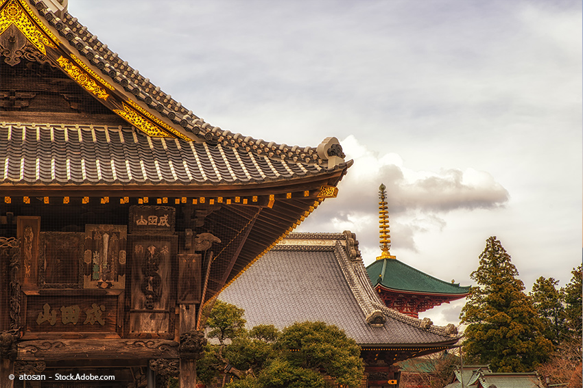 Chiba: Naritasan Shinshoji in Narita