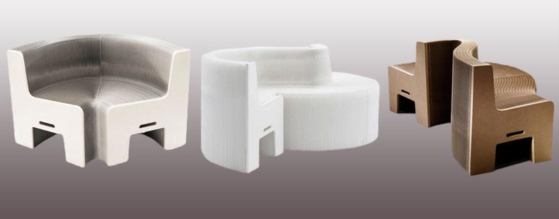 flexiblelove designsofa robustes design sofa aus papier japanwelt. Black Bedroom Furniture Sets. Home Design Ideas