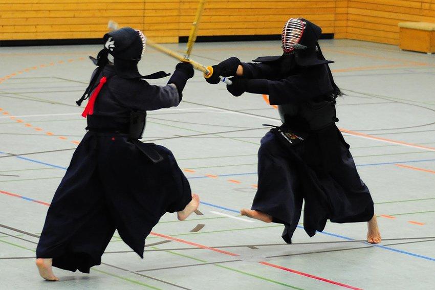 Kendo - japanischer Schwertkampf