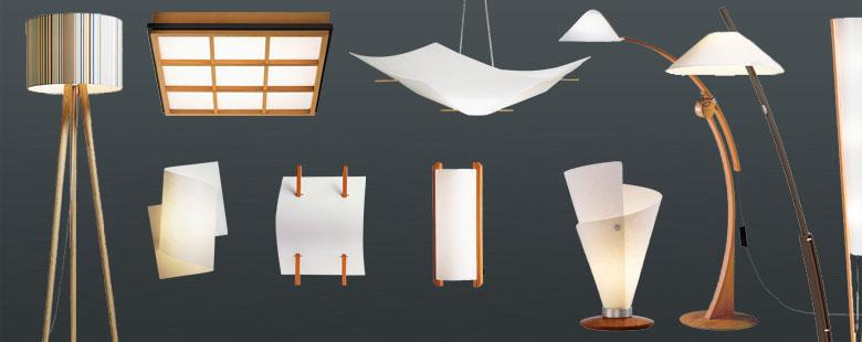 domus leuchten exclusive beleuchtung im japanischen stil. Black Bedroom Furniture Sets. Home Design Ideas