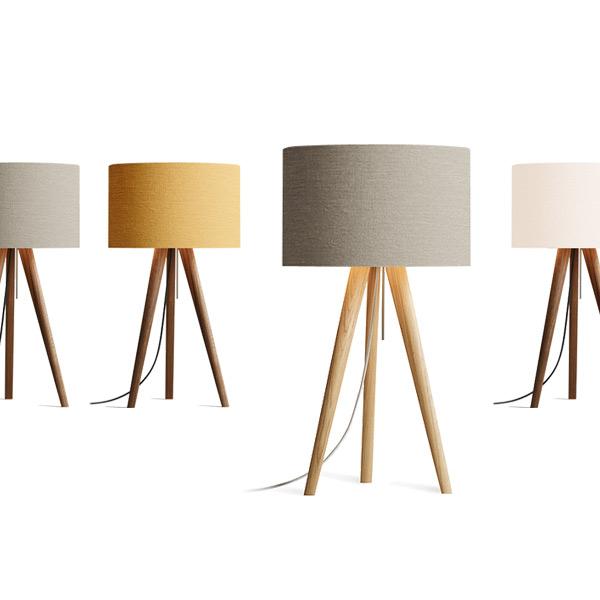 domus tischleuchte sten linum tisch stehlampen. Black Bedroom Furniture Sets. Home Design Ideas