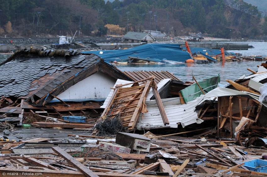 Das Große Tohoku Erdbeben 2011 und der folgende Tsunami hatten eine riesige Zerstörungsgewalt. Noch heute sind nicht alle Schäden beseitigt.