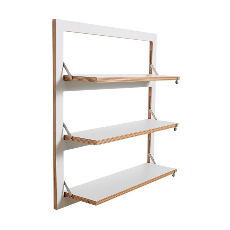 fl pps regal 80x80x3 ambivalenz designer m bel m bel wohnen japanwelt. Black Bedroom Furniture Sets. Home Design Ideas
