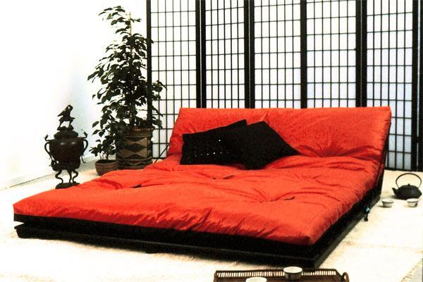 so passen japanischer futon und europ ischer lattenrost zusammen. Black Bedroom Furniture Sets. Home Design Ideas