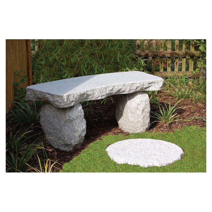 Gartenbank rustikal • Bänke • Garten • Japanwelt