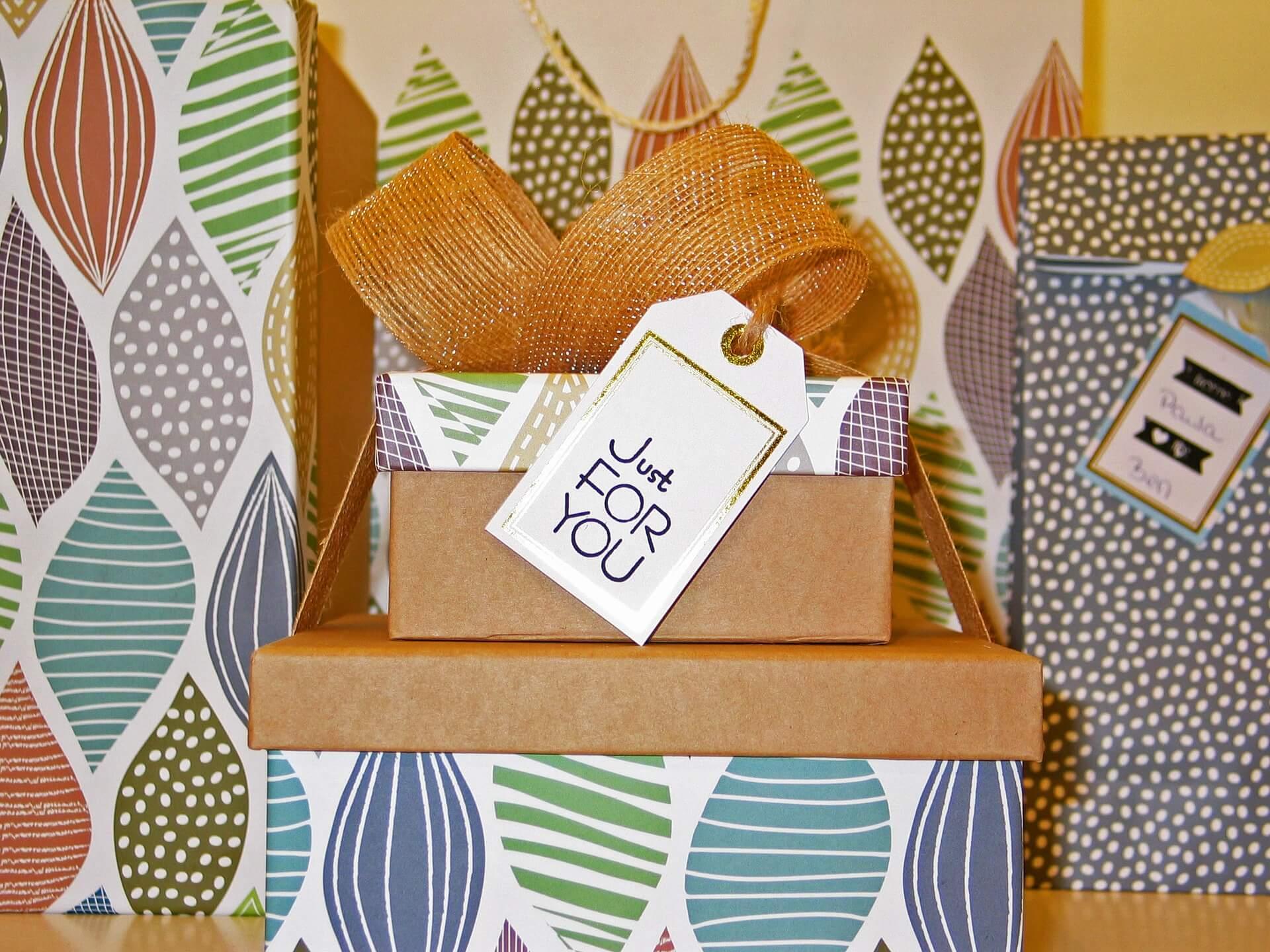 Geschenke für sich selbst sind Lucky Bags