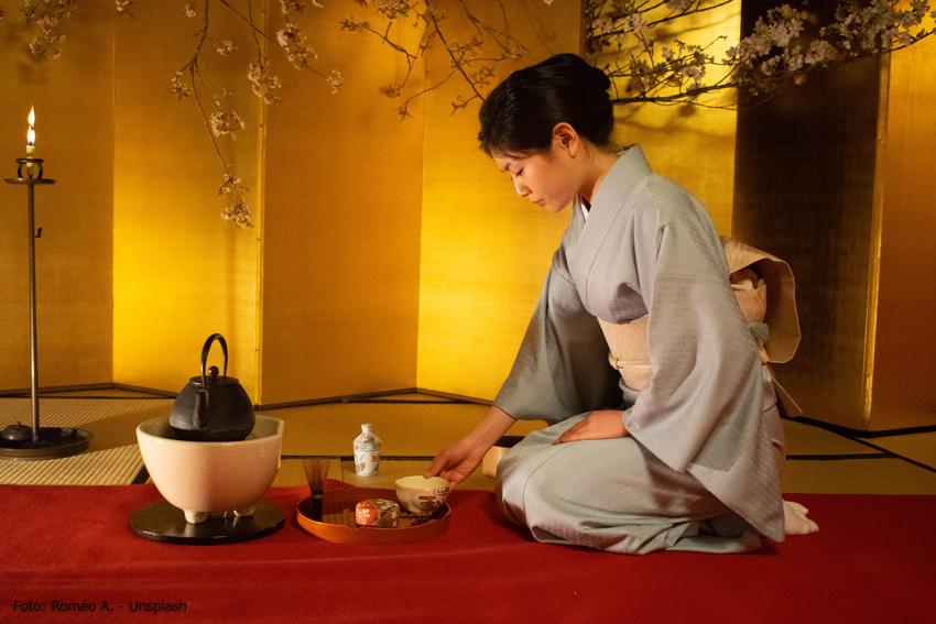 Sencha Tee - japanische Teezeremonie