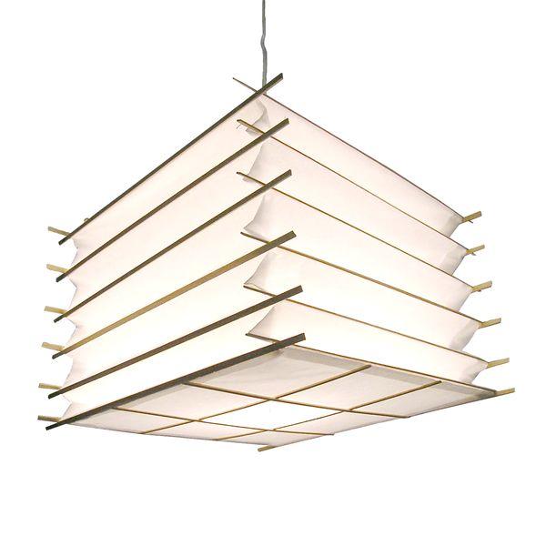 h ngelampe cubelite deckenlampen asiatische lampen. Black Bedroom Furniture Sets. Home Design Ideas