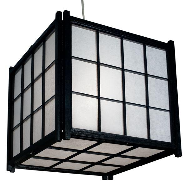 h ngelampe japan deckenlampen asiatische lampen. Black Bedroom Furniture Sets. Home Design Ideas