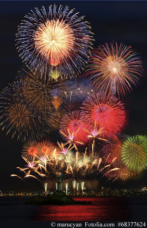 Hanabi - Japanisches Feuerwerk