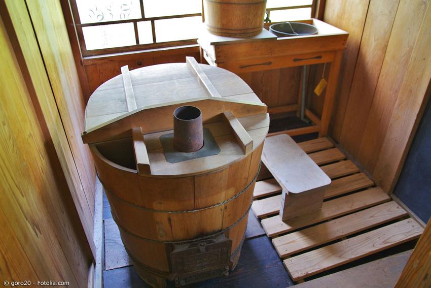 Japanische Wanne japanische badekultur und das hinoki holz japanwelt de