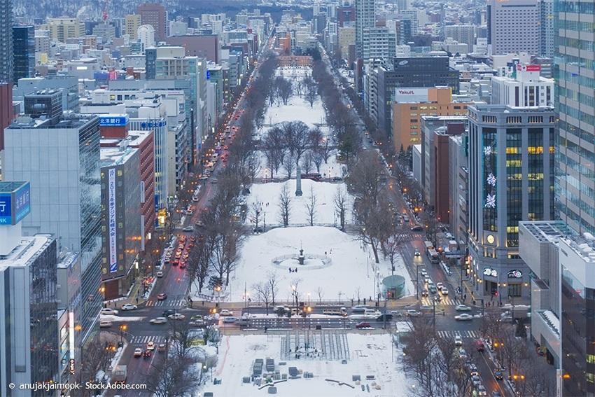 Odori Park Sapporo, Hokkaido