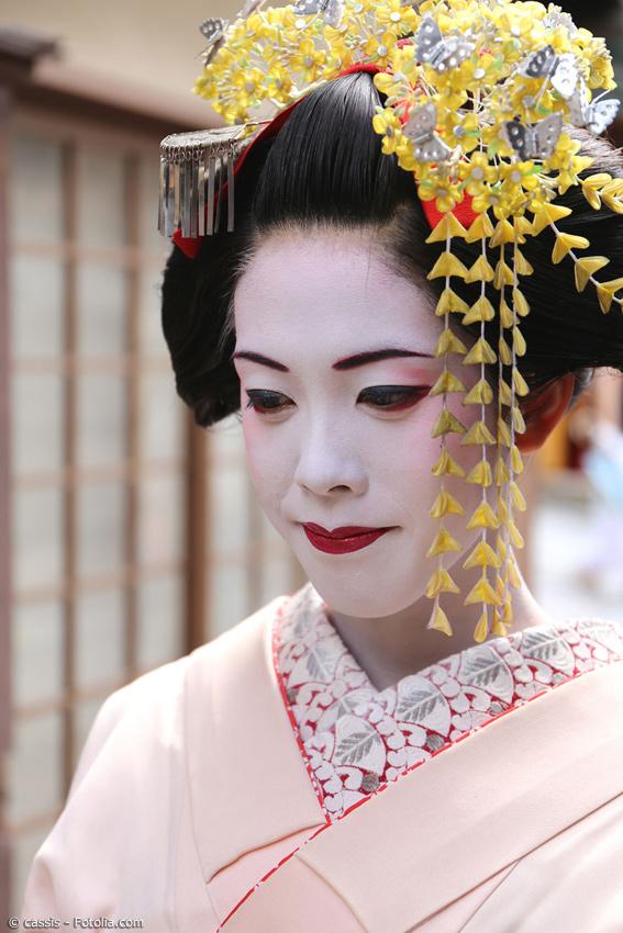 Kanzashi Japans Traditioneller Haarschmuck Japanwelt De