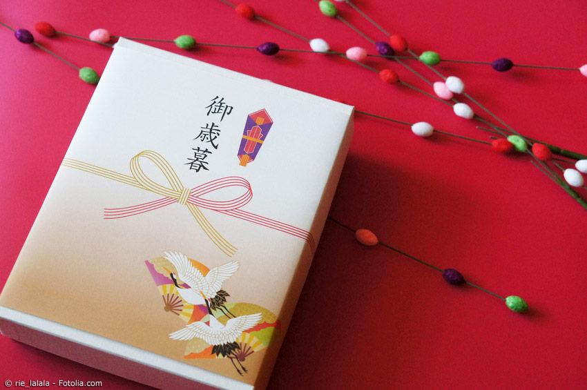 Geschenke sind zum japanischen Neujahr genauso wichtig wie zu Weihnachten in Deutschland.