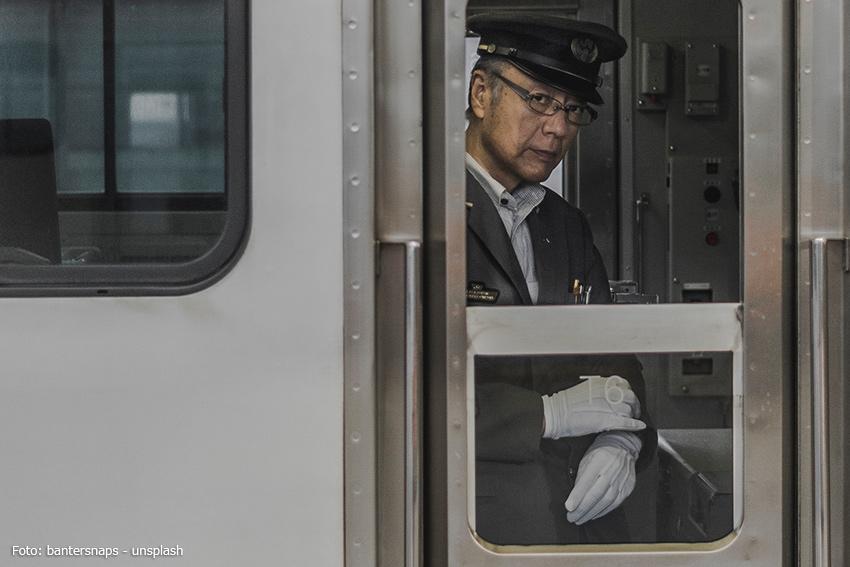 Servicekräfte in Japan