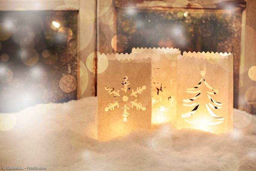 Windlichter aus Papier sind nicht nur in Japan eine beliebte Dekoration in der dunklen Jahreszeit. Sie lassen sich leicht selbst basteln.