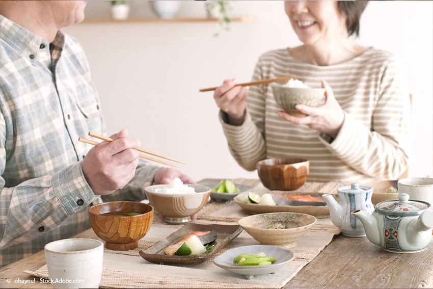 Typisches japanisches fr hst ck das kommt morgens auf for Traditionelles japanisches hotel