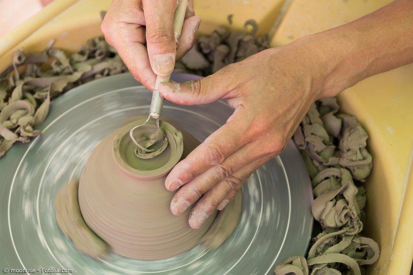 Japanische Keramik Herstellung