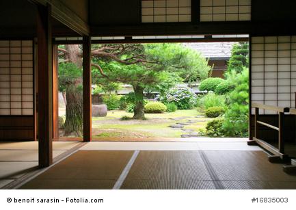 Traditionelles japanisches Wohnzimmer